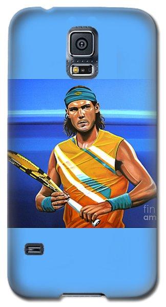 Rafael Nadal Galaxy S5 Case by Paul Meijering