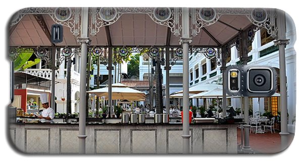 Raffles Hotel Courtyard Bar And Restaurant Singapore Galaxy S5 Case