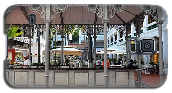 Raffles Hotel Courtyard Bar And Restaurant Singapore Galaxy S5 Case