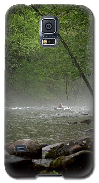 Rafting Misty River Galaxy S5 Case