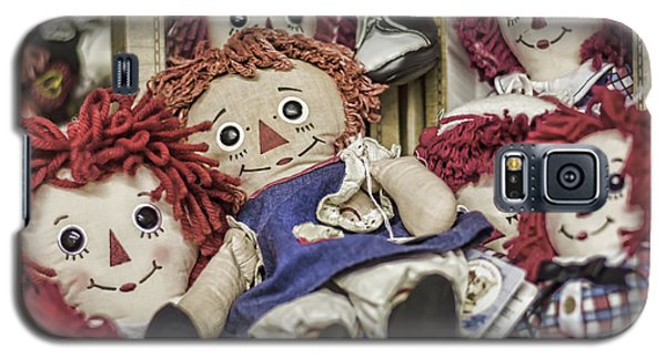 Raggedy Ann And Andy Galaxy S5 Case