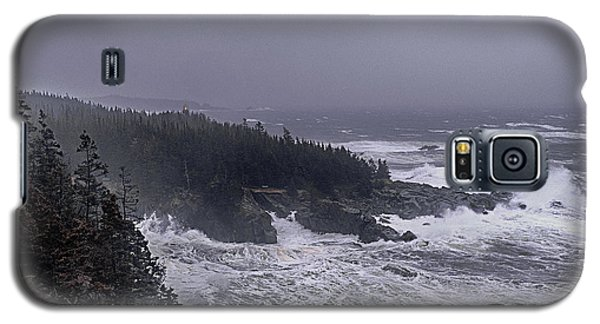 Raging Fury At Quoddy Galaxy S5 Case by Marty Saccone