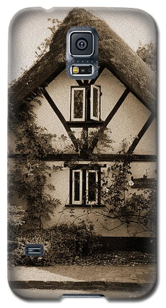 Rags Corner Cottage Nether Wallop Olde Sepia Galaxy S5 Case