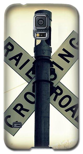 Rail Road Crossing Galaxy S5 Case