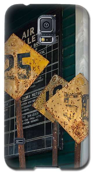 Rail Signs Galaxy S5 Case by Randy Sylvia