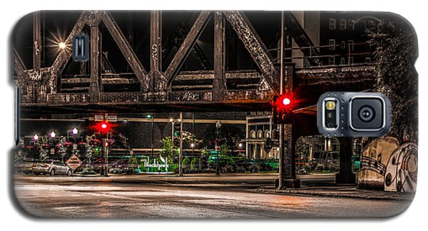 Railroad Bridge Galaxy S5 Case by Ray Congrove