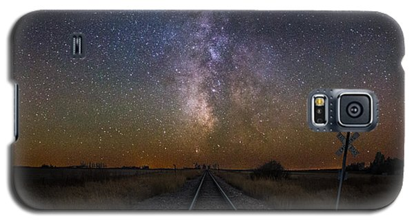 Railroad Crossing Galaxy S5 Case