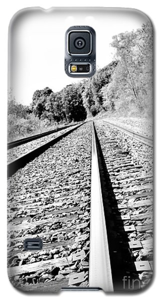 Galaxy S5 Case featuring the photograph Railroad Track by Joe  Ng