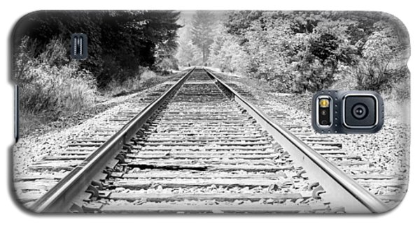 Railroad Tracks Galaxy S5 Case by Athena Mckinzie