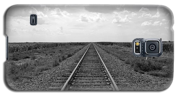 Railroad Tracks Galaxy S5 Case
