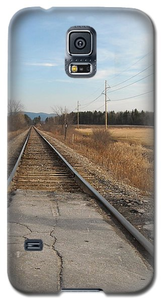 Rails And Lines Galaxy S5 Case