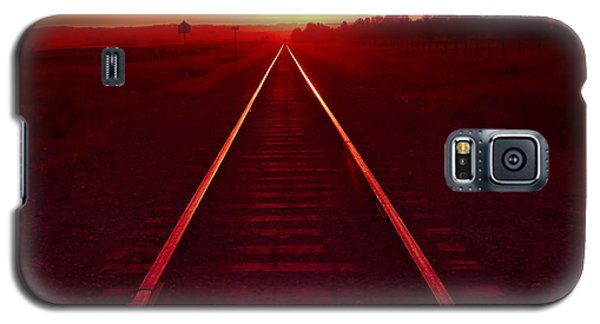 Rails To The Sun Galaxy S5 Case
