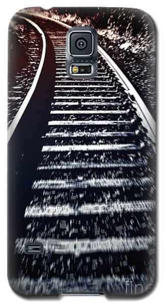 Galaxy S5 Case featuring the photograph Railtrack by Craig B