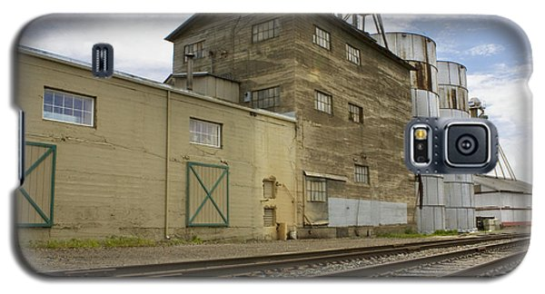 Railway Mill Galaxy S5 Case by Sonya Lang