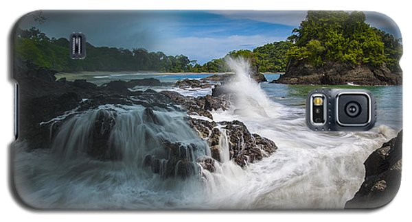 Rain And Shine At Manuel Antonio Beach Galaxy S5 Case