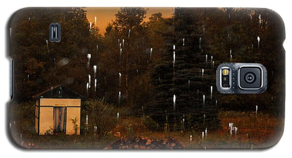 Rain In The Adirondacks Galaxy S5 Case