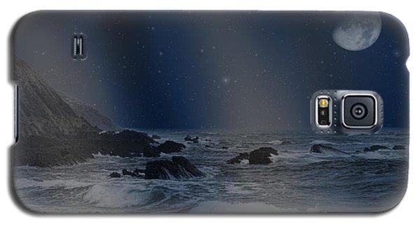 Rain Of Stars On The Sea  Galaxy S5 Case by Angel Jesus De la Fuente
