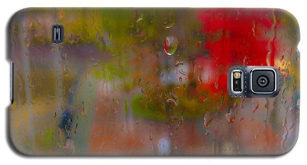 Rain On Glass Galaxy S5 Case by Susan Stone