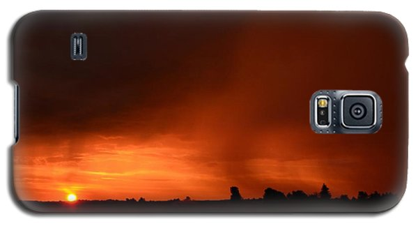 Rain Squall Sunrise Galaxy S5 Case