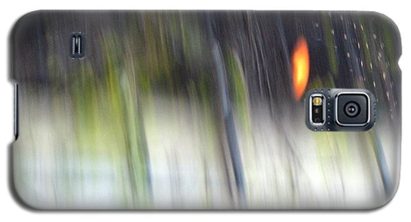Galaxy S5 Case featuring the photograph Rain Streaked City Scenes by Chris Anderson