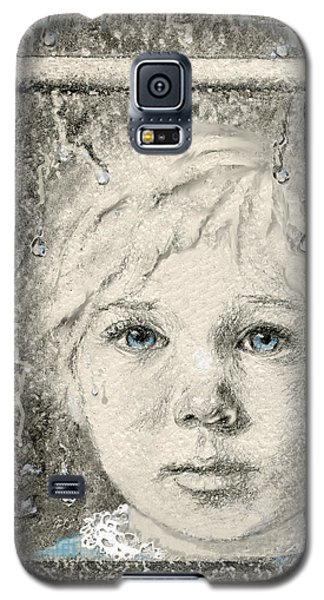 Galaxy S5 Case featuring the drawing Rain  by Terry Webb Harshman