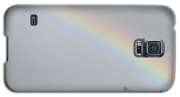 Galaxy S5 Case featuring the photograph Rainbow After The Rain by Barbara Griffin