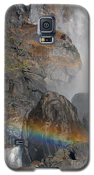 Rainbow And Mist Galaxy S5 Case