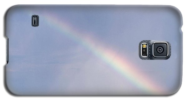 Rainbow And Oil Pump Galaxy S5 Case