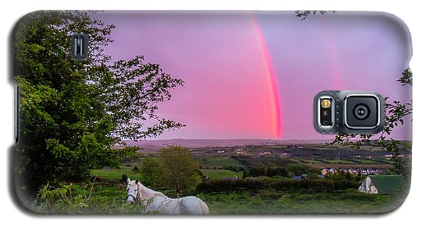 Rainbow At Sunset In County Clare Galaxy S5 Case