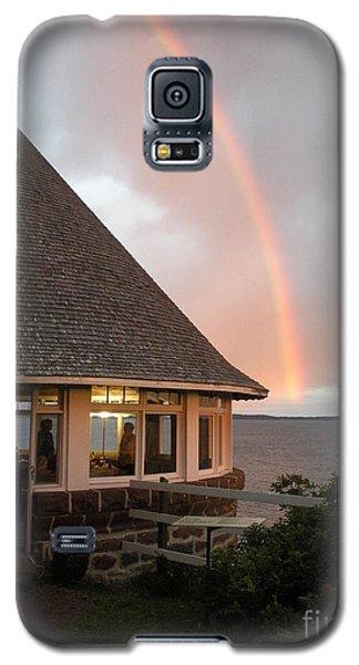 Rainbow At The Bath House Minister Island Nb Galaxy S5 Case