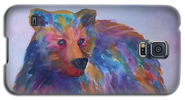 Rainbow Bear Galaxy S5 Case by Ellen Levinson