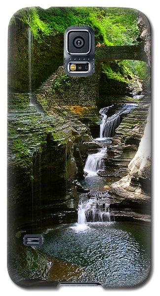 Rainbow Bridge And Falls Galaxy S5 Case