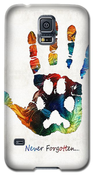 Rainbow Bridge Art - Never Forgotten - By Sharon Cummings Galaxy S5 Case