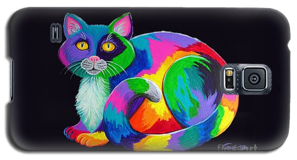 Rainbow Calico Galaxy S5 Case by Nick Gustafson