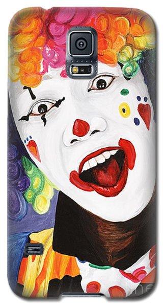 Rainbow Clown Galaxy S5 Case