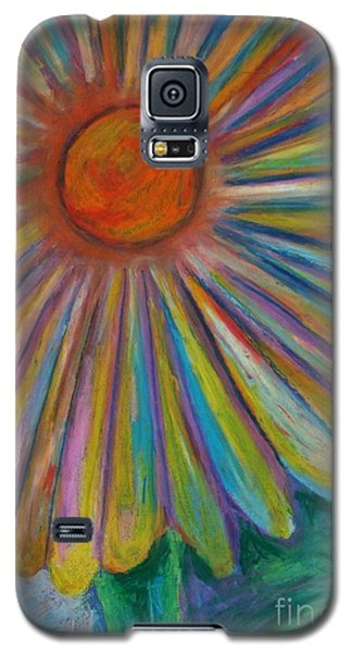 Rainbow Daisies Galaxy S5 Case