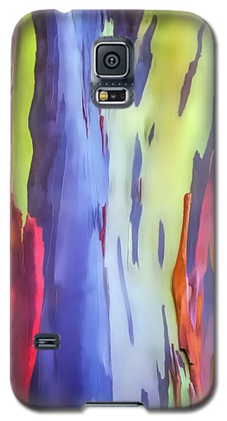 Rainbow Eucalyptus 2 Galaxy S5 Case