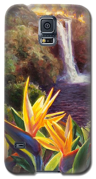 Rainbow Falls Big Island Hawaii Waterfall  Galaxy S5 Case