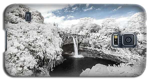 Rainbow Falls In Infrared 3 Galaxy S5 Case