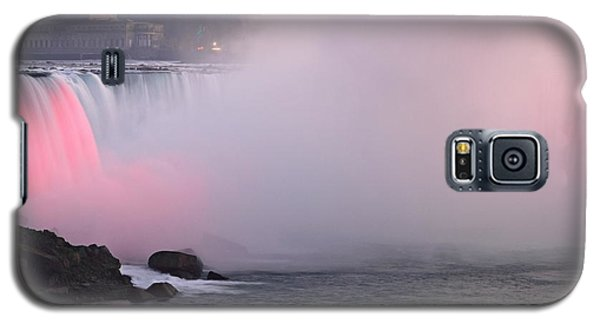 Rainbow Falls Lit At Night Galaxy S5 Case