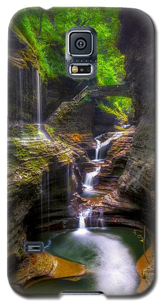 Rainbow Falls Of Watkins Glen Galaxy S5 Case