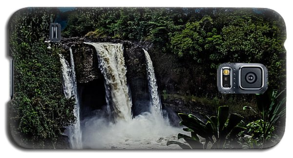 Rainbow Falls Galaxy S5 Case by Randy Sylvia