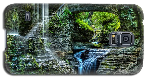 Rainbow Falls Watkins Glen Galaxy S5 Case