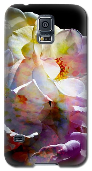 Galaxy S5 Case featuring the photograph Rainbow Floral by John Fish