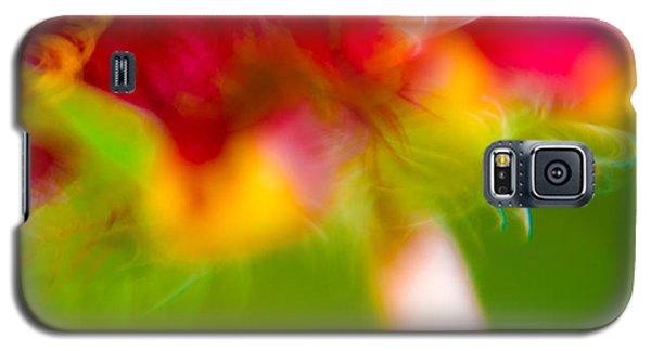 Rainbow Flower Galaxy S5 Case