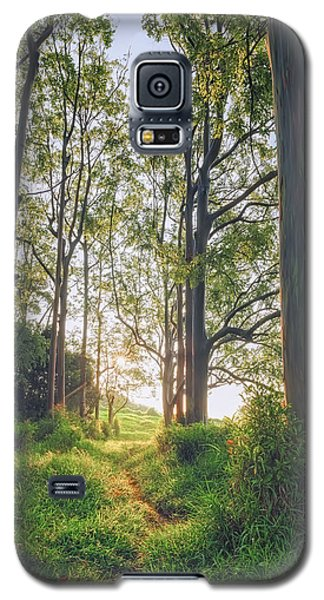 Galaxy S5 Case featuring the photograph Rainbow Grove by Hawaii  Fine Art Photography