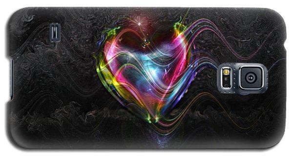Rainbow Heart Galaxy S5 Case