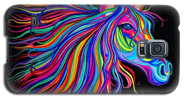 Rainbow Horse Too Galaxy S5 Case