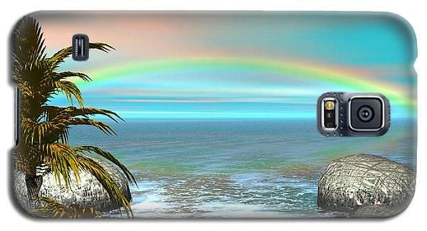 Rainbow Galaxy S5 Case by Jacqueline Lloyd