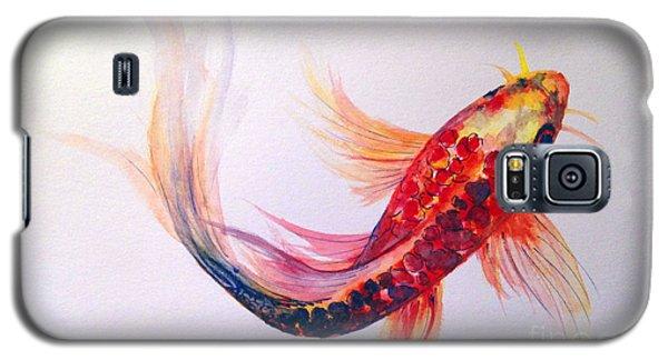 Rainbow Koi Galaxy S5 Case